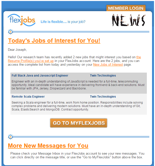 Flexjobs Review | JoeQuery